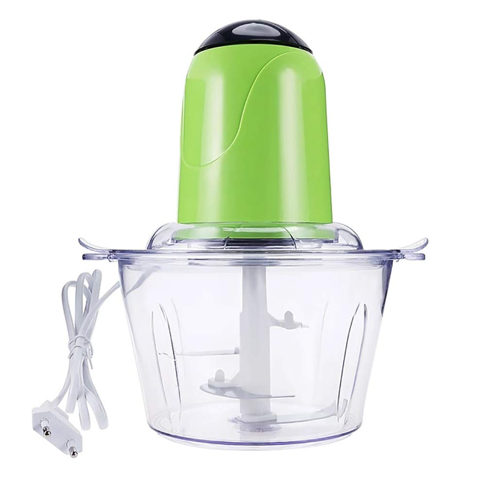 ZUEN Electric Meat Grinder Kitchen Food Mixers with Meat Grinder Blade Multifunctional Food Processor Mixer Fruit Blender,Green