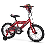 Huffy Bicycle Company 16' Disney/Pixar Cars Boys Bike, Lights and Sounds Shield, Red