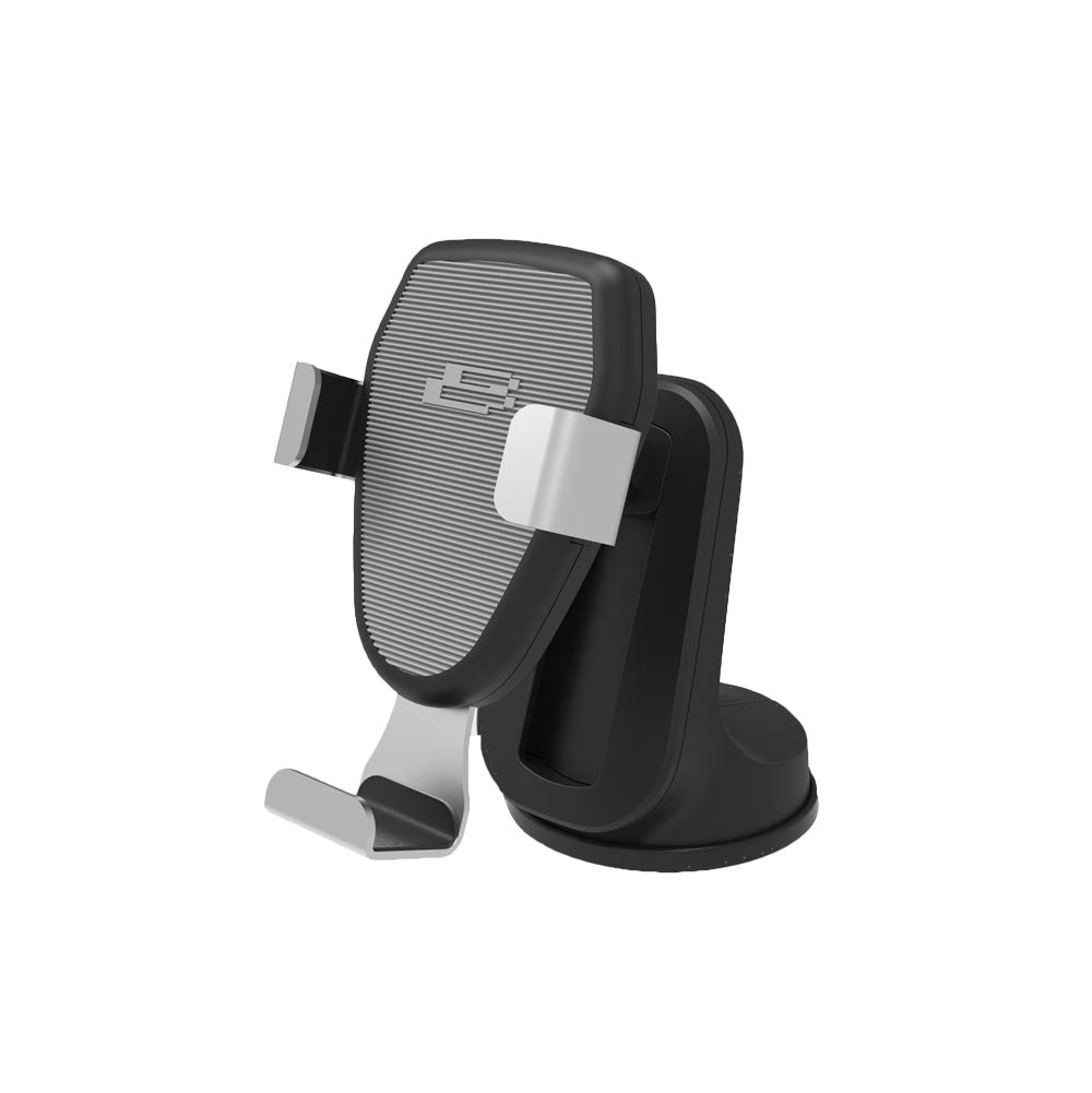 Bracketron BT2-972-2 PwrUp Qi Gravity Mount, Wireless Car Charger Phone Dash and Vent Mount for Samsung Galaxy S9 S8+ S7 Edge Note 9 iPhone Xs Max XR X 8 Plus Google LG
