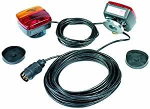 Ring Automotive RCT800 Kit Magnético para Placa de Remolque, 12m/4m