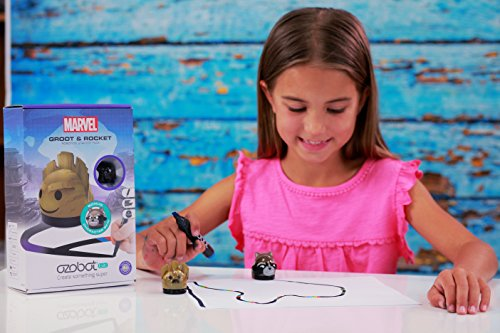 Bit Coding Robot, Guardians of the Galaxy (Black) by Ozobot (Image #3)