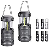 Camping Lantern- GYMAN LED Ultra Bright Survival Gear for Emergencies, Hurricanes with Magnetic Base (Camping Lantern)