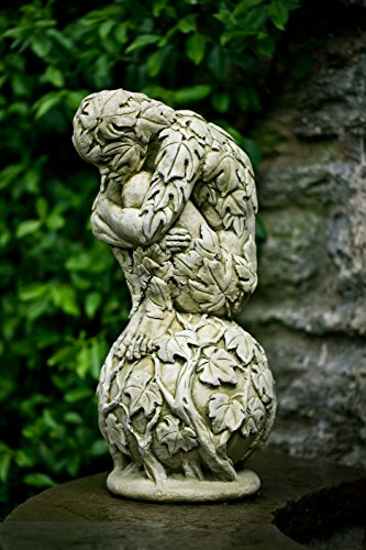 Campania International S-458-VE Awakening Statue, Verde Finish