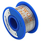 "Image of Sywon 60-40 Tin Lead Rosin Core Solder Wire 0.039"" 50g for Electrical Soldering and DIYs"