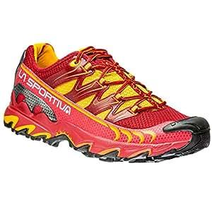 La Sportiva Ultra Raptor Berry - Zapatillas de Running, Color Rojo/Amarillo: Amazon.es: Deportes y aire libre