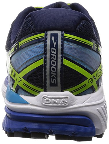 Brooks Ravenna 7, Zapatillas de Running para Hombre Surf the Web/Lime Punch/Peacoat