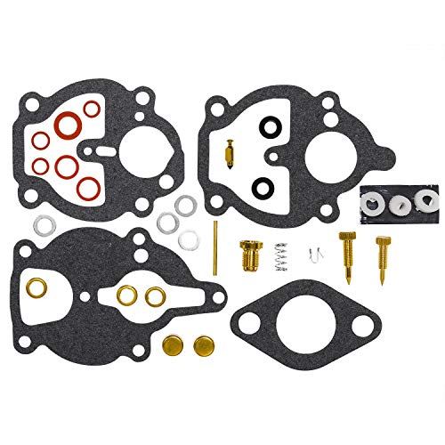 HIFROM Replacement Carburetor Rebuild Kit Carb Repair Kit for Zenith 61 161 67 68 K2112 IH Farmall Wisconsin - Zenith Kit Carburetor