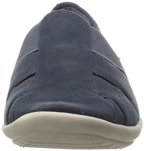 Mocassino navy Spirit navy Easy Canvas Tessuto Alani wqX66tAf