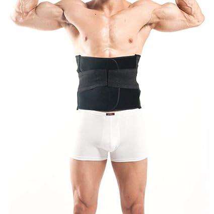 Hombres trimmer de la cintura, transpirable quemar grasa sudor peso pérdida cuerpo shaper deportes adelgazamiento