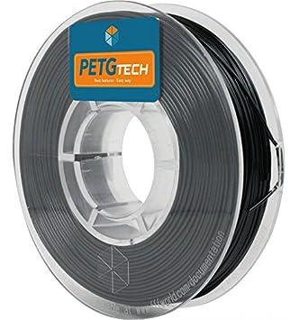 FFFworld 250 g. PETG Tech Negro 2.85 mm. - Filamento PETG de Alto Rendimiento para Impresora 3D - petg Filament