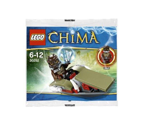 LEGO Legends of Chima: Crug's Swamp Jet Set 30252 (Lego Chima Book Minifigure)