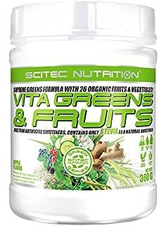 Polvo Lean Greens 500 gramos - Suplemento de verduras con enzimas ...