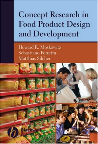 Concept Research in Food Product Design and Development by Wiley-Blackwell