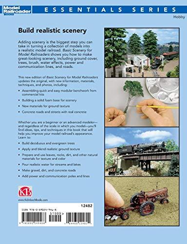 Basic Scenery for Model Railroaders, Second Edition (Model Railroader  Books: Essentials)
