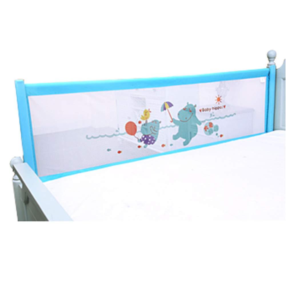 ベッドレール 漫画ベビーベッドレール、子供の安全睡眠ベッドアンチコリジョンコットン、垂直持ち上げ調整可能なベビーベッドバンパー、高さ83センチメートル (サイズ さいず : 1.8m) 1.8m  B07LD8QD95