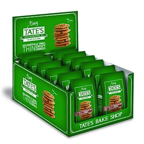 Tate's Bake Shop Thin & Crispy Cookies, Tiny Tate's Chocolate Chip, 1 Oz (1 Pack Of 12)