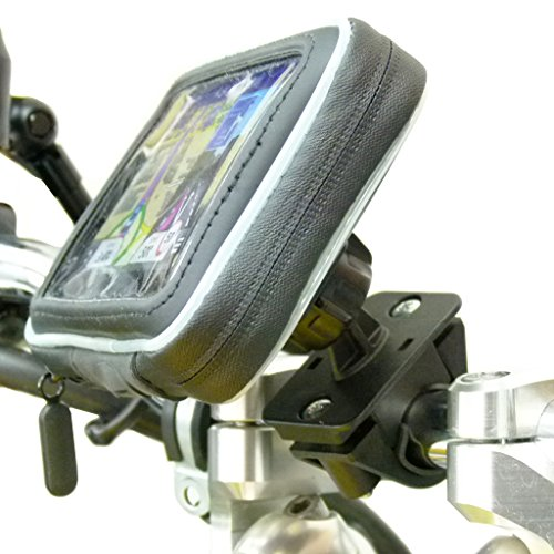 Waterproof Motorcycle Handlebar Mount for Garmin Nuvi 2519 2519LM (sku 31110)