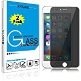 [2 PACK] iPhone 6 6s Plus Screen Protector, DONWELL Shield Privacy Anti-Spy Tempered Glass Screen Protector for 5.5 inches iPhone 6 6s Plus [Scratch-Resistant] (2 pack)