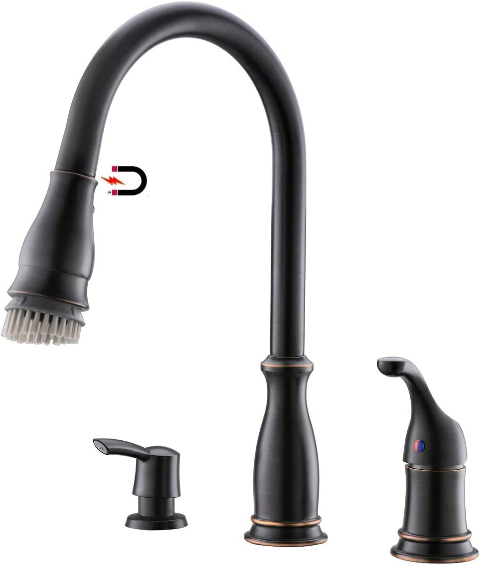 EKRTE Commercial Water Filtration Faucet Lead Free Brass Drinking Water Purifier Faucet, Oil Rubbed Bronze Kitchen Bar Sink Drinking Water Purifier Faucet