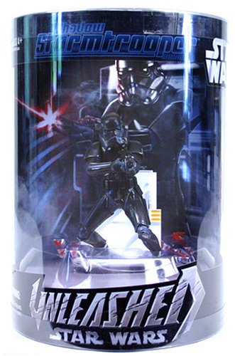 Hasbro Star Wars Unleashed Shadow Stormtrooper Shadow Bolt