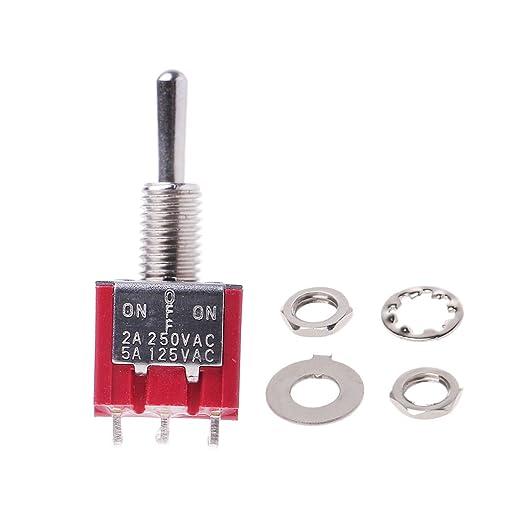 En-en Miniatura Mini Interruptor de palanca 4PDT