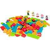 Building Blocks Set for Toddlers - Educational Toys for 2+ Years Old - 150 Pieces + 5 Farm Statues