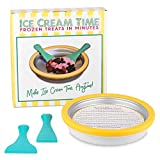 Ice Cream Time - Frozen Treats in Minutes - IceCream Maker Pan