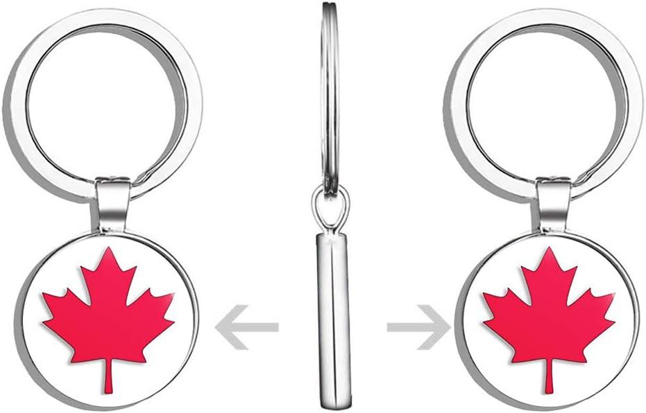 Brand New CANADA DAY Maple Leaf Lanyard Key Holder