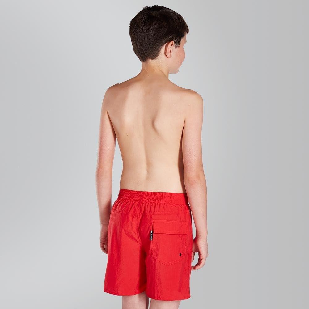 Speedo Solid Leisure de 15 Pantalones Cortos Fed XL Rojo Ni/ños