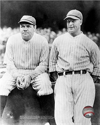 Used, Lou Gehrig & Babe Ruth New York Yankees MLB Photo (Size: for sale  Delivered anywhere in USA