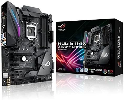 Asus 2 90MB0V50-M0EAY0 - Placa Base (Rog Strix Z370-F Gaming, 1151 (C), Z370): Amazon.es: Informática