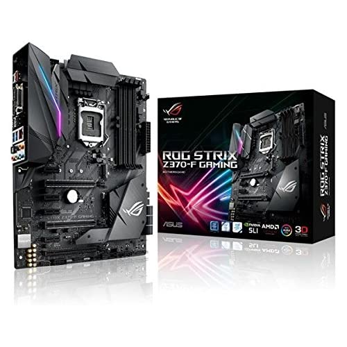 chollos oferta descuentos barato Asus 2 90MB0V50 M0EAY0 Placa Base Rog Strix Z370 F Gaming 1151 C Z370