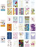 Birthday Cards Value Pack Assorted All Occasion Cards Box Different Designed Thinking of You, Blank Cards, Thank You, Congratulations & Birthday Greeting Cards Assortment in Bulk, Set of 30