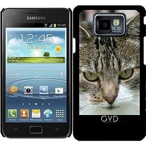 Funda para Samsung Galaxy S2 (GT-I9100) - Gato by WonderfulDreamPicture