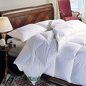 Amazon.com: King Size White Down Alternative Comforter - Duvet Cover Insert - 300TC Cover: Home ...