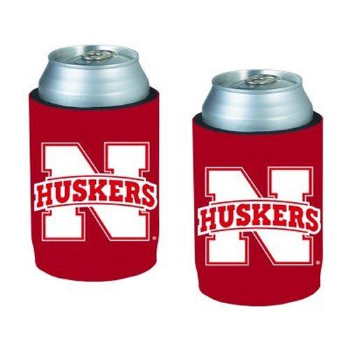 NCAA Nebraska - Neoprene Can Holders | Nebraska Cornhuskers Can Coolies - Set of 2 by Kolder