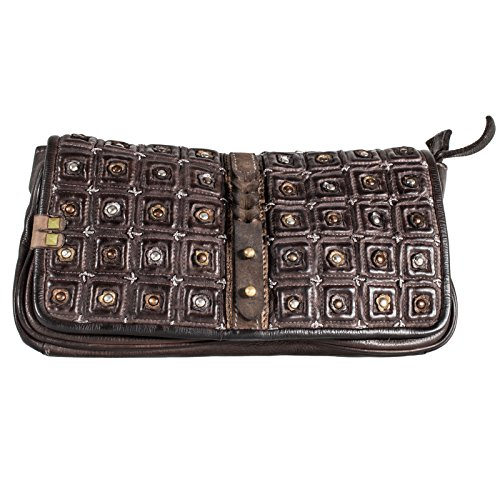 Desiderius Clutch Alka brown DESS170192
