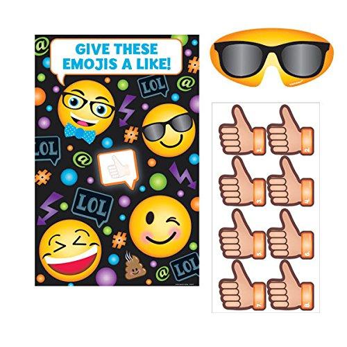 (Amscan 271681 LOL Emojis Party Game, Multi Sizes,)