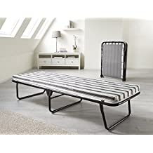 Jaybe Value Folding Bed with Airflow Fibre Mattress Guest, Rollaway Bed