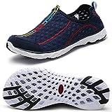 Zhuanglin Women's Quick Drying Aqua Water Shoes Size 6 B(M) US Dark Blue,Dark Blue,6 B(M) US