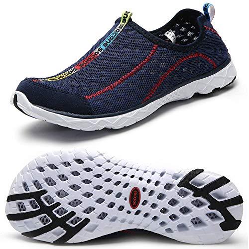 Zhuanglin Women's Quick Drying Aqua Water Shoes Size 7 B(M) US Dark Blue,Dark Blue,7 B(M) US from Zhuanglin