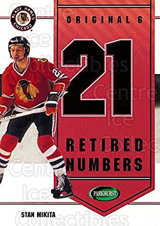 (CI) Stan Mikita Hockey Card 2003-04 Parkhurst Original Six Chicago  Blackhawks Inserts e40325b0d