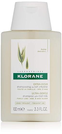 Klorane - Champú de leche de avena extra delicada y protector, ...