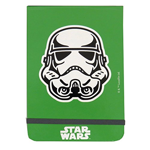 Lucasfilm Ltd Star Wars Policemans Style Flip Notebook - 200 Pages, Plain Paper - Size 5.9