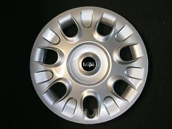 Original Mini R50 – R59 – Tapacubos Tapacubos Tapacubos para llantas de acero 15 –