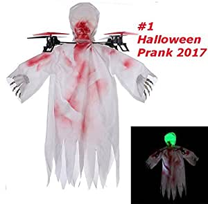 Top Race Halloween Ghost Drone, 6 Gyro 2.4 GHz Flying Ghost ...