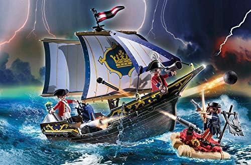 Playmobil Pirates 70412 - Nave della Marina Reale, dai 5 anni