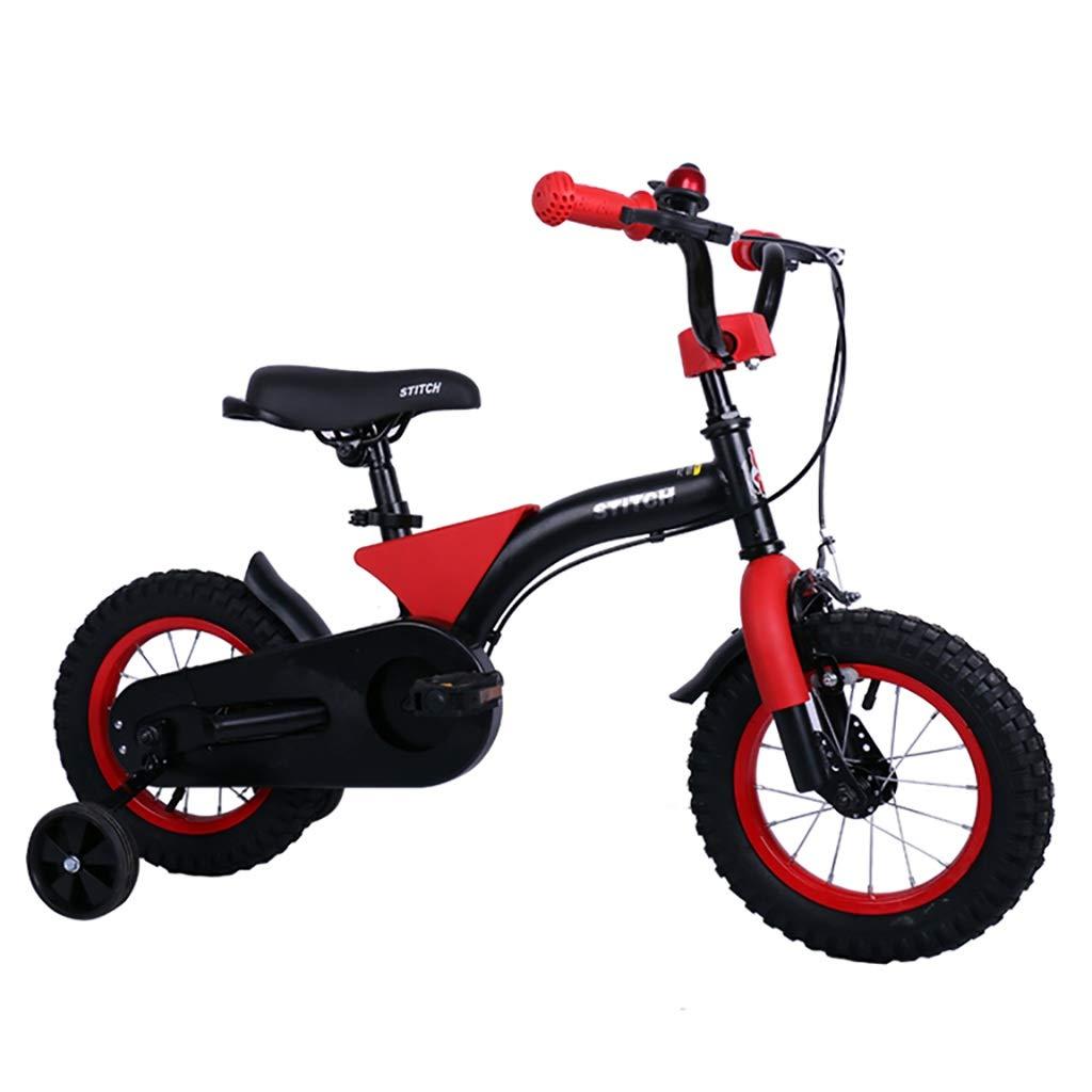 丈夫 子供の自転車2-3-4-5-6歳の男の子と女の子のハンドブレーキ、制御安全屋外12インチ   B07RJXSYHN