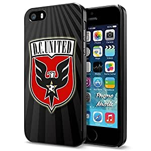 Soccer MLS DC D.C. United LOGO SOCCER FOOTBALL, Cool iPhone 6 plus 6 plus Smartphone Case Cover Collector iphone Black