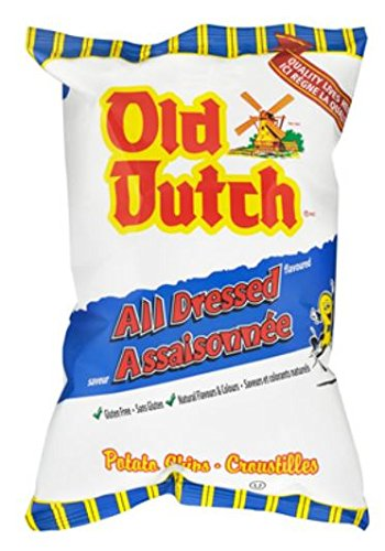 Old Dutch All Dressed Potato Chips {Imported from (Old Dutch Foods)